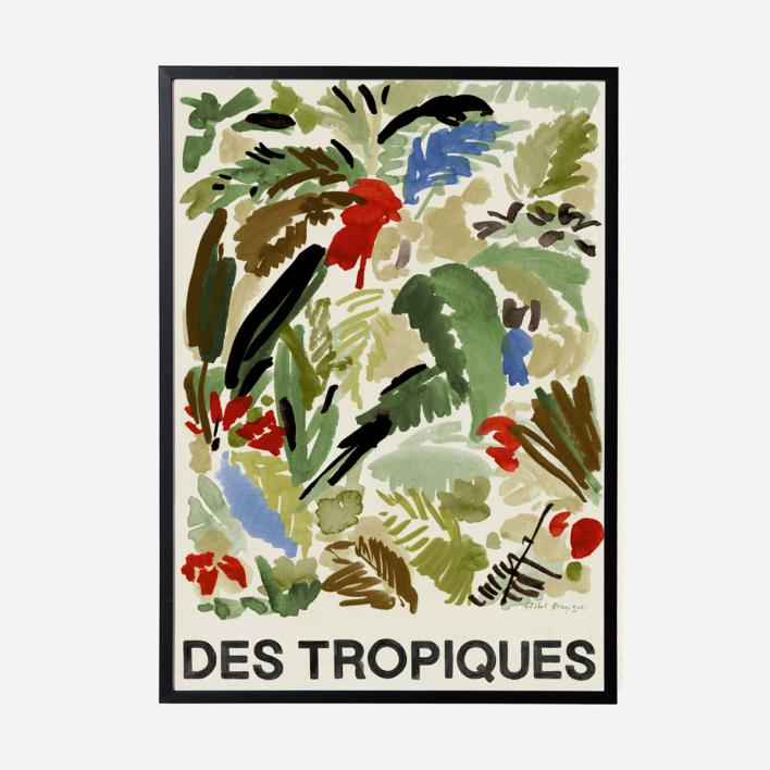 Des Tropiques Green Art Print                          </a>                    </div>                    <div class=