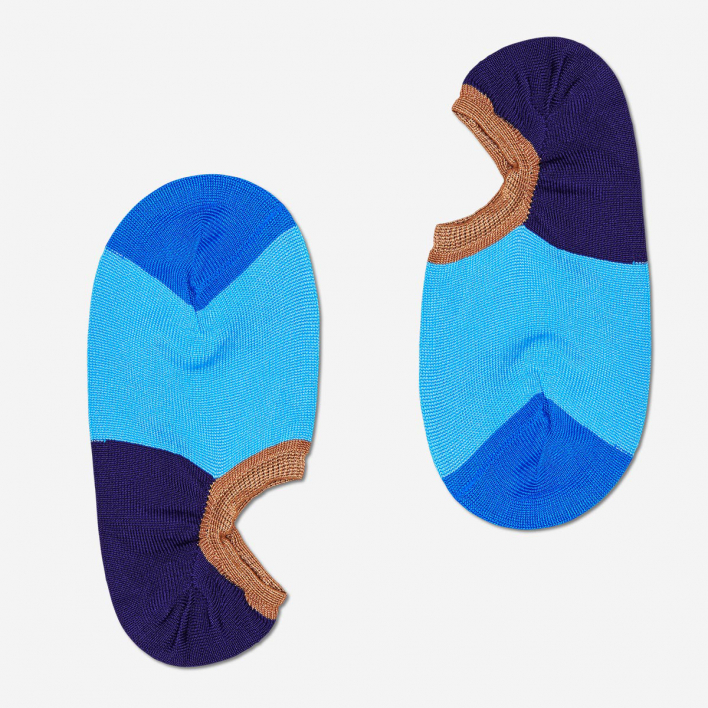 Hysteria by Happy Socks Gry Invisible Sneaker Socks - Blue 36-38 36-38