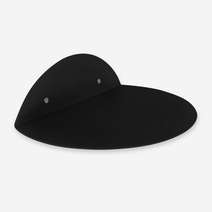 kolor Wandregal Dot Shelf - Jet Black