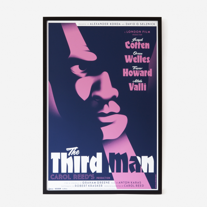 The Third Man Siebdruck