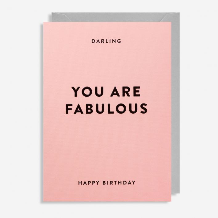 You Are Fabulous Birthday Grußkarte                          </a>                    </div>                    <div class=
