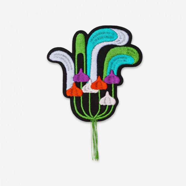 Macon & Lesquoy Patch Magic Mushrooms - Bügel-Aufnäher