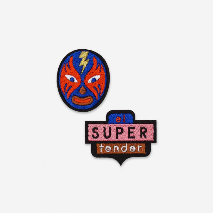 Macon & Lesquoy Patches El Super Tender - Bügel-Aufnäher