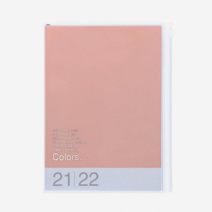 MARK'S 2022 Diary A6 Colors – Pink Wochen-Kalender