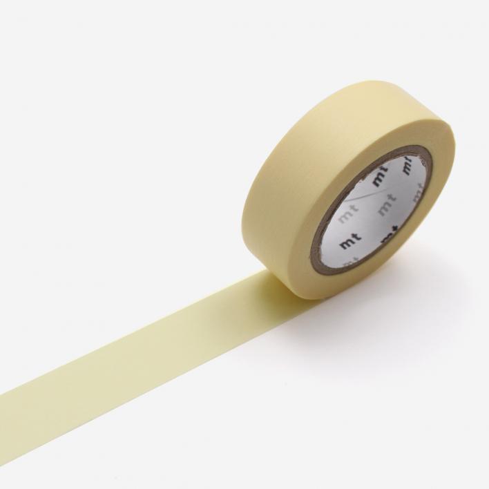 mt Pastel Yellow Masking Tape