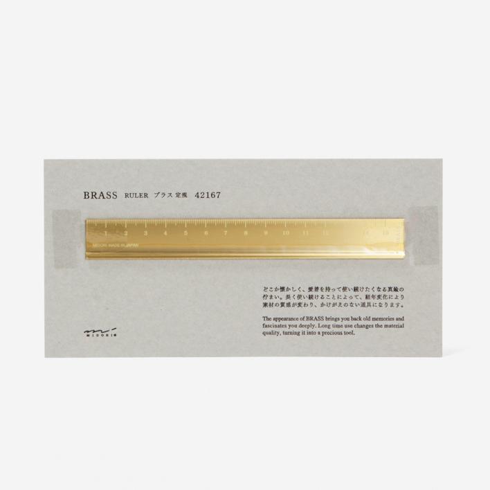 TRAVELER'S Company Brass Ruler
