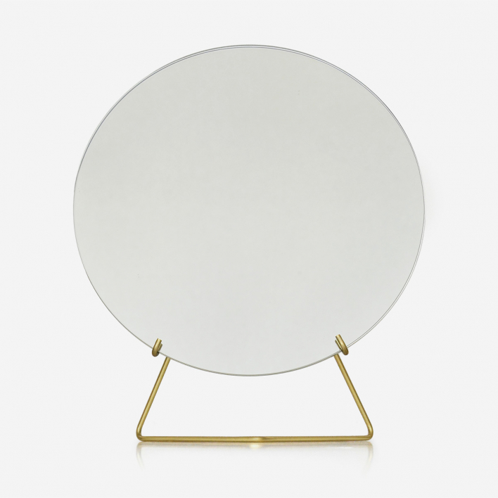 Moebe Mirror Brass Large