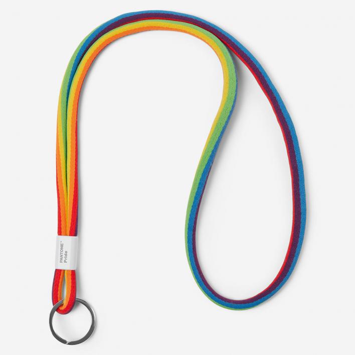 Pantone Pantone™ Pride Key Chain Long