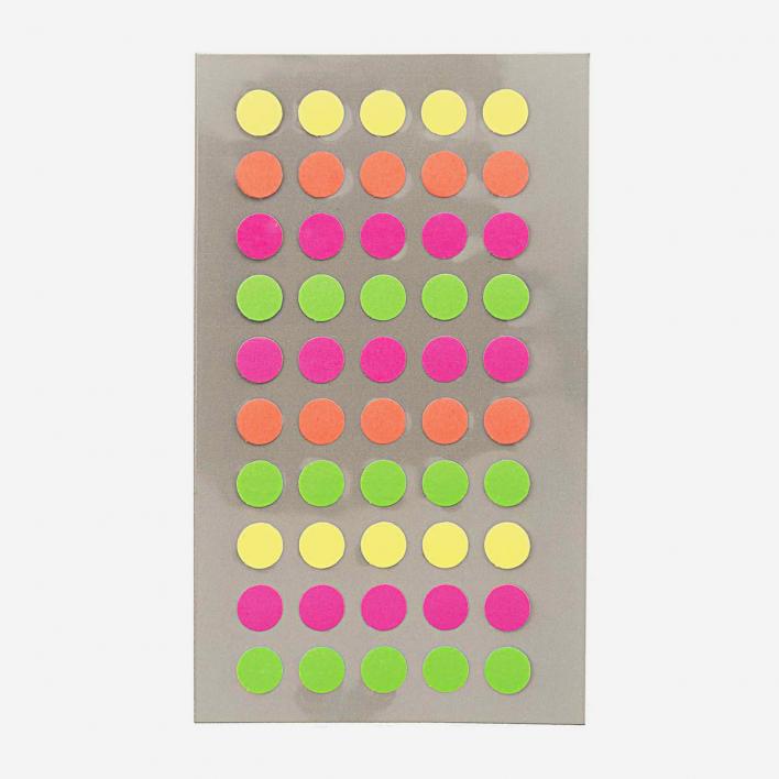 Paper Poetry Sticker Dots Neon – 8 mm 8 mm