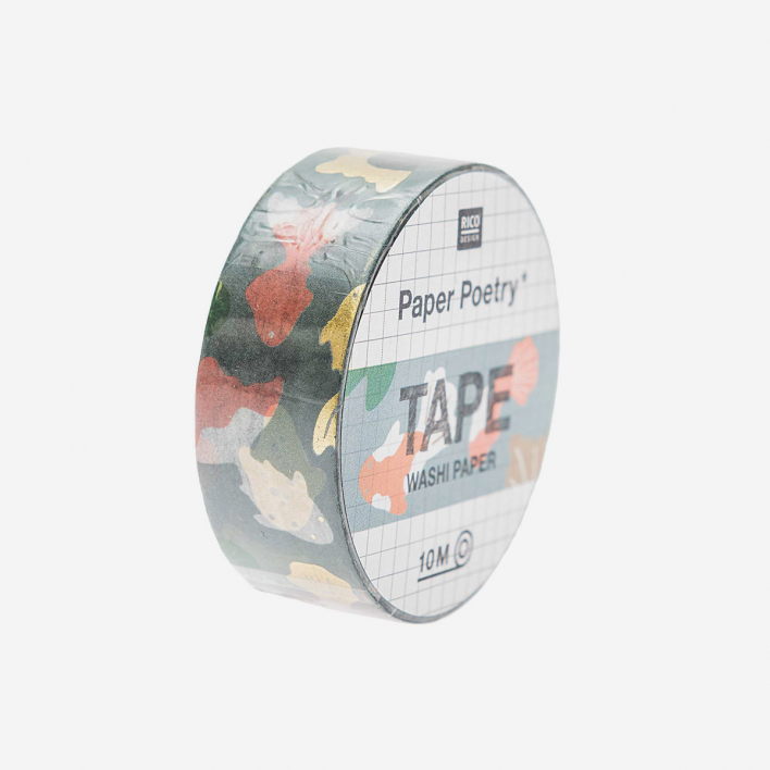 Paper Poetry Washi Paper Tape Jardin Japonais Koi