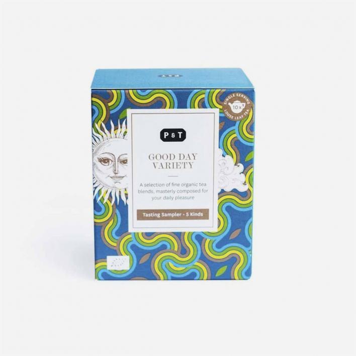 P & T - Paper & Tea Good Day Variety Box – Box mit 5 Teesorten