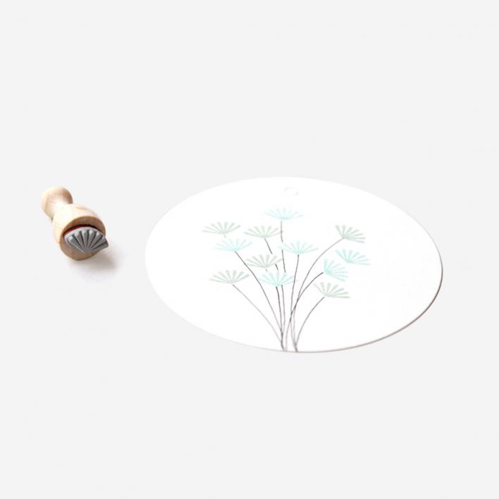 Perlenfischer Fächer Mini Stamp