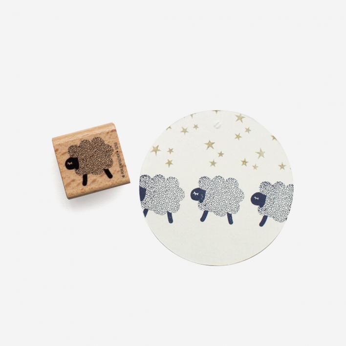 Perlenfischer Sheep Stamp