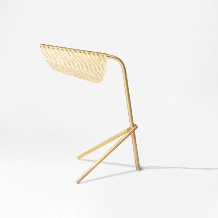 Petite Friture Mediterranea Brass Table Lamp