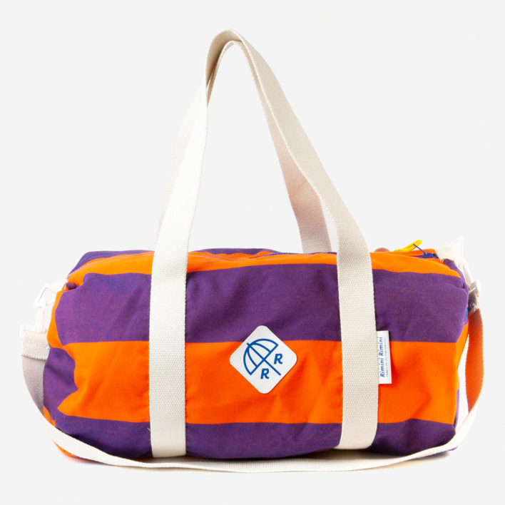 Rimini Rimini Bags Weekender Bag Marabello Maxi Orange Purple