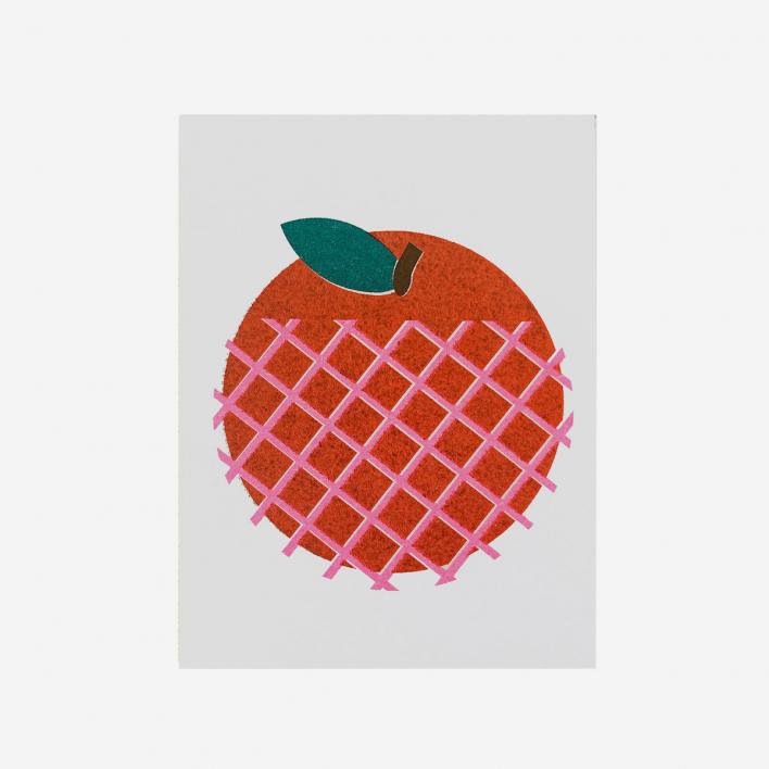Scout Editions Fuji Apple Mini Grußkarte