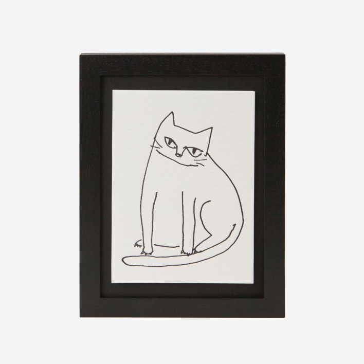 Fat Cat - Mini Letterpress Druck                          </a>                    </div>                    <div class=