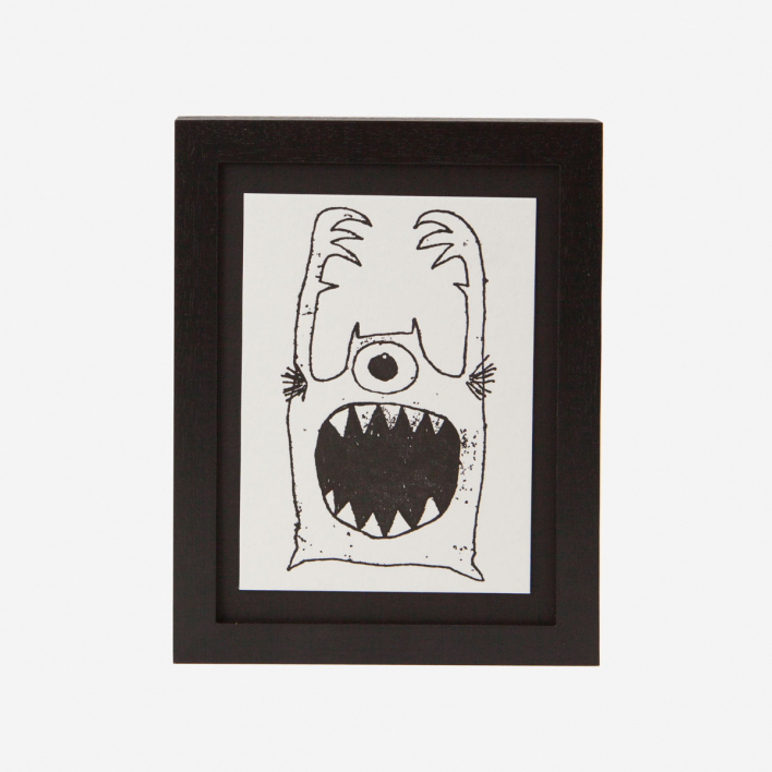 Monster - Mini Letterpress Druck                          </a>                    </div>                    <div class=