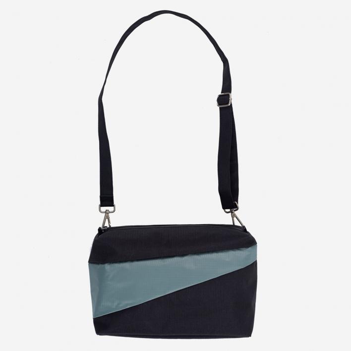 Susan Bijl The New Bum Bag M Black & Grey