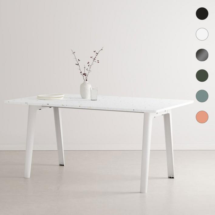 Tiptoe NEW MODERN Dining Table – Esstisch mit Tischplatte aus recyceltem Plastik