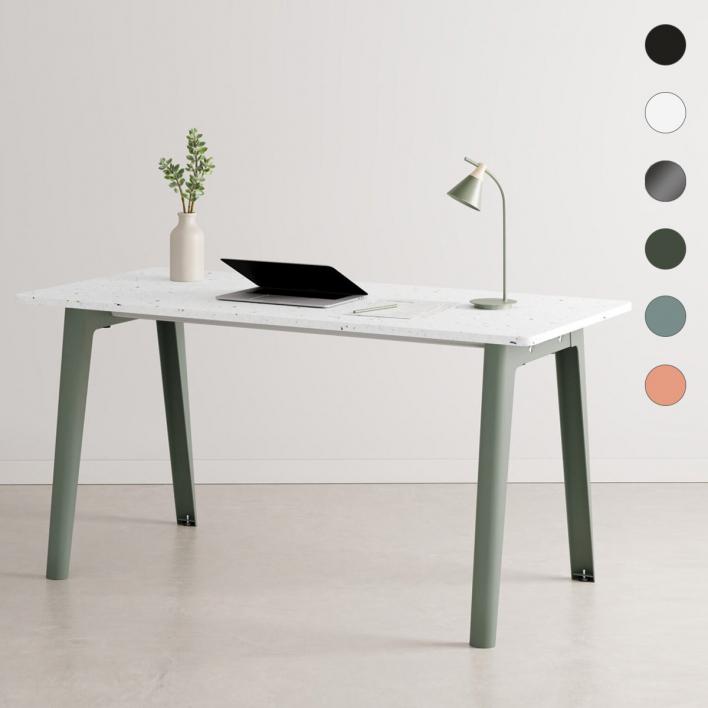 Tiptoe NEW MODERN Desk – Schreibtisch mit Tischplatte aus recyceltem Plastik