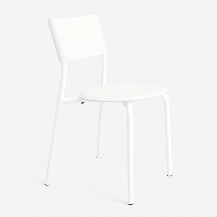 Tiptoe SSDr Chair - Recycled Plastic Cloudy White Cloudy White