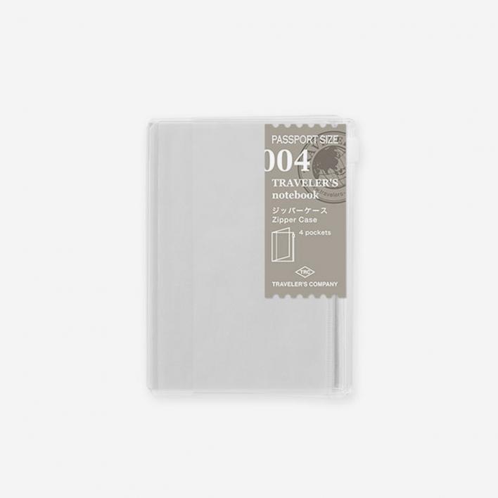 TRAVELER'S Company 004. Zipper Case Passport Size
