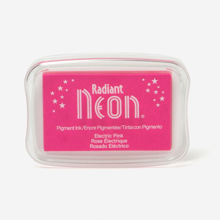 Tsukineko Radiant Neon Electric Pink Stempelkissen