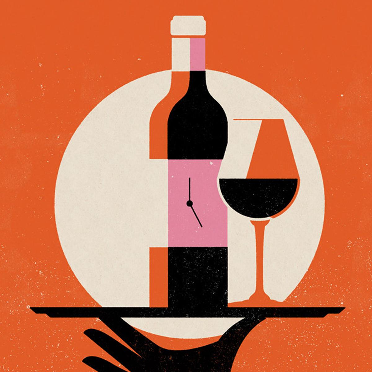 183 Rikiki Grafik Amp Produkt 183 Make Time For Wine