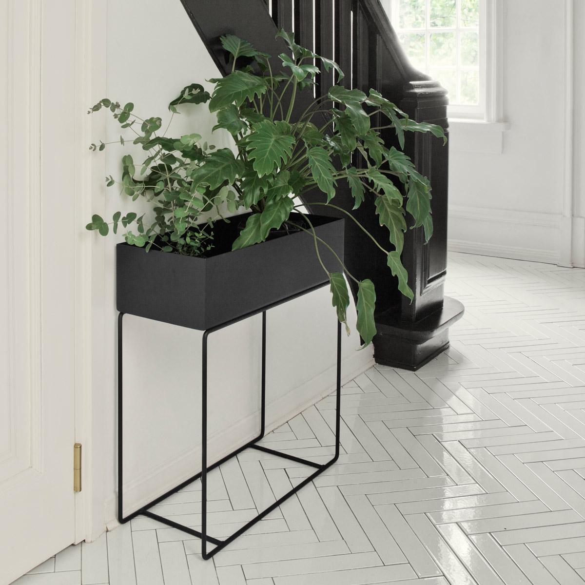 rikiki grafik produkt plant box large black. Black Bedroom Furniture Sets. Home Design Ideas