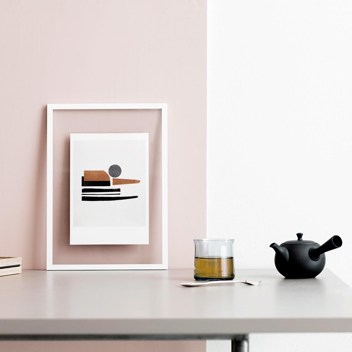 rikiki grafik produkt white frame bilderrahmen a4. Black Bedroom Furniture Sets. Home Design Ideas