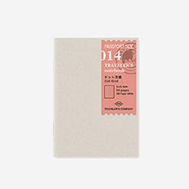 014. Dot Grid Refill Passport Size>     </noscript> </div>          <div class=