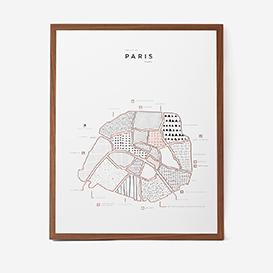 Visual Guide Paris Letterpress Druck>     </noscript> </div>          <div class=