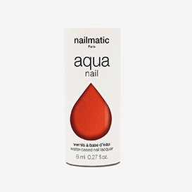 Aqua Capucine - Orange Red Shimmer Waterbased Nail Polish>     </noscript> </div>          <div class=