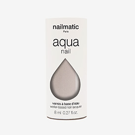 Aqua Hazel - Cold Grey Shimmer Waterbased Nail Polish>     </noscript> </div>          <div class=