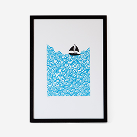 Bigger Boat Screenprint>     </noscript> </div>          <div class=