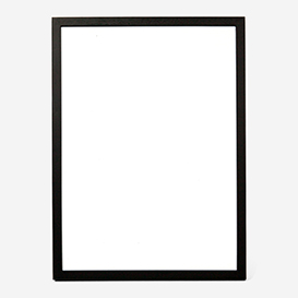 Black Wooden Frame A3>     </noscript> </div>          <div class=