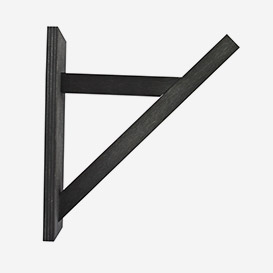 Bracket Black - Wall Suspension for cord>     </noscript> </div>          <div class=