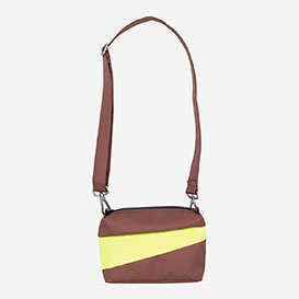 The New Bum Bag S Brown & Fluo Yellow>     </noscript> </div>          <div class=