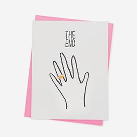 The End Grußkarte>     </noscript> </div>          <div class=