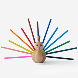 Peacock Pen Holder>     </noscript> </div>          <div class=