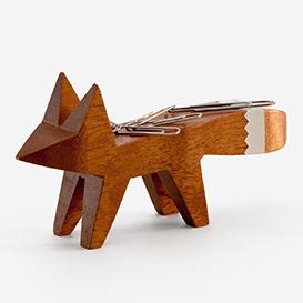 Copper Tip Fox Paper Clip Holder - Mahagoni>     </noscript> </div>          <div class=