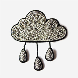 Brooch Large Cloud with rain>     </noscript> </div>          <div class=
