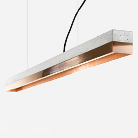 [C1] copper - Pendant light Concrete / Copper>     </noscript> </div>          <div class=