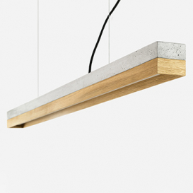 [C1] oak - Pendant light Concrete / Oak>     </noscript> </div>          <div class=