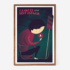Cloud Nothings 2019 Siebdruck Gigposter>     </noscript> </div>          <div class=