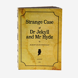 Dr. Jekyll & Mr. Hyde Notebook