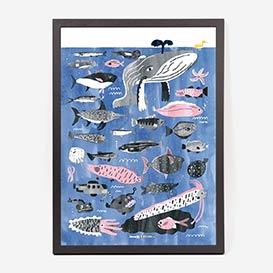 Fish Art Print / Giclée-Print>     </noscript> </div>          <div class=