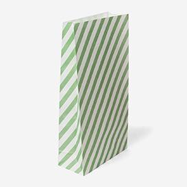 Geschenktüte Stripe Large - Mint