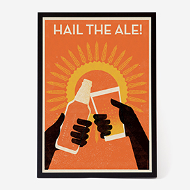 Hail The Ale Siebdruck>     </noscript> </div>          <div class=